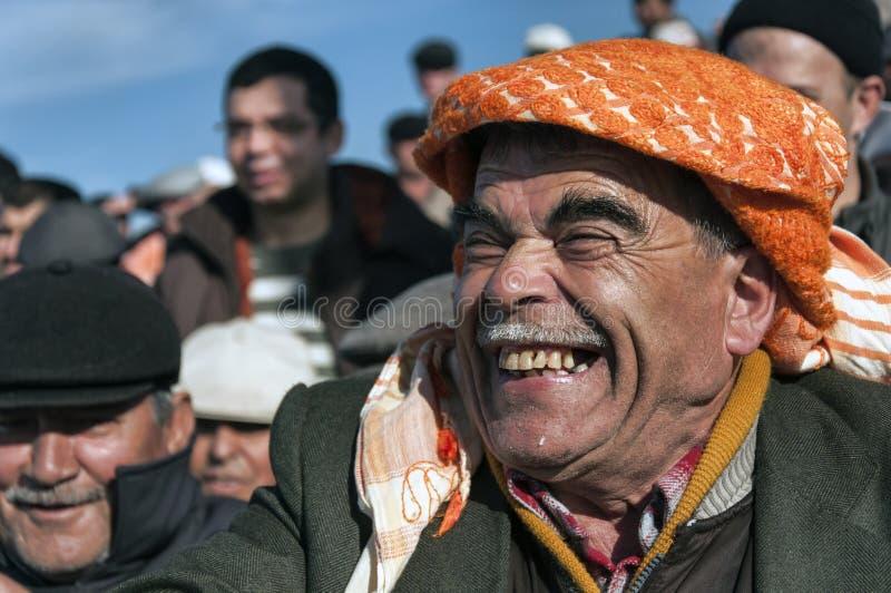 Turkse mens stock foto