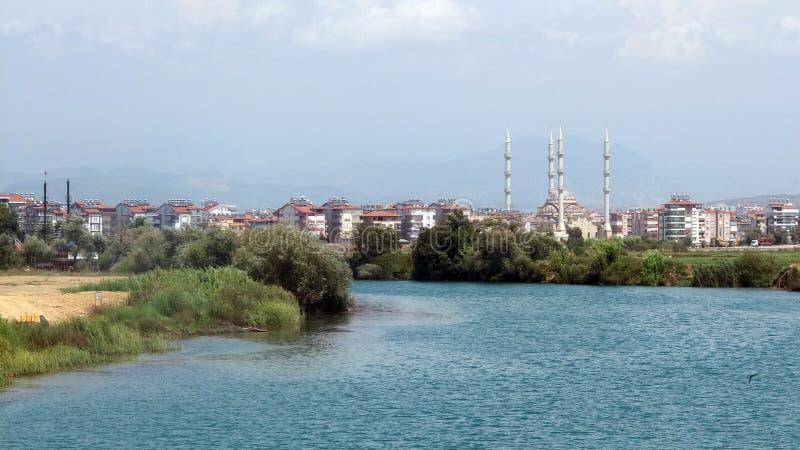 Turkse moskee stock afbeeldingen