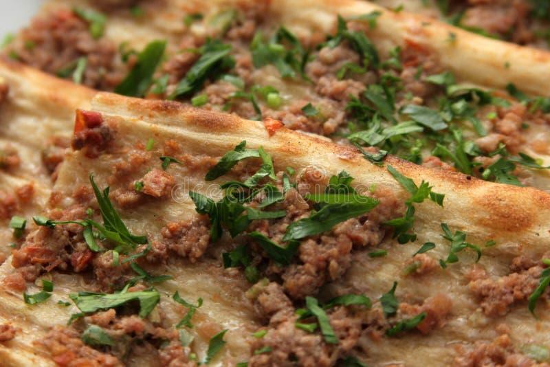 Turkse Pizza stock fotografie