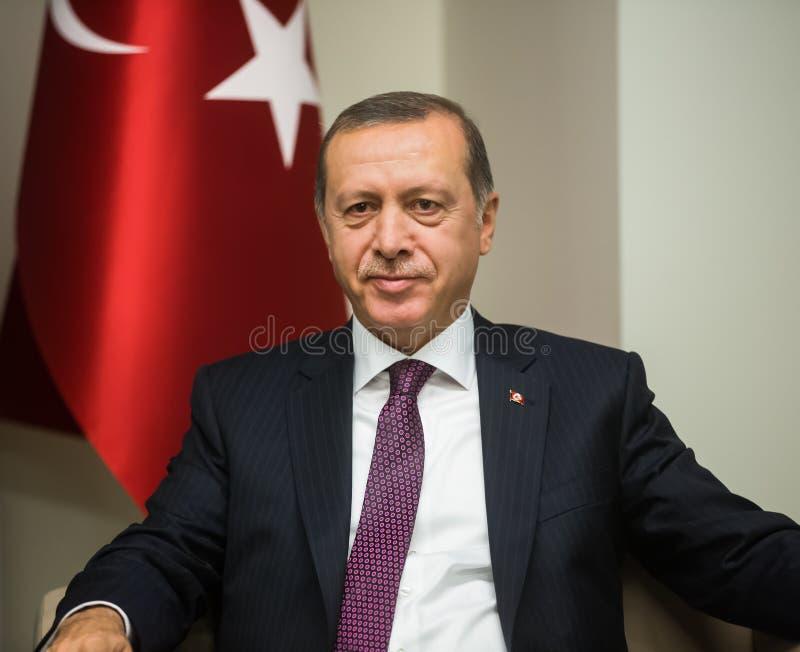 Turkse President Recep Tayyip Erdogan stock afbeeldingen