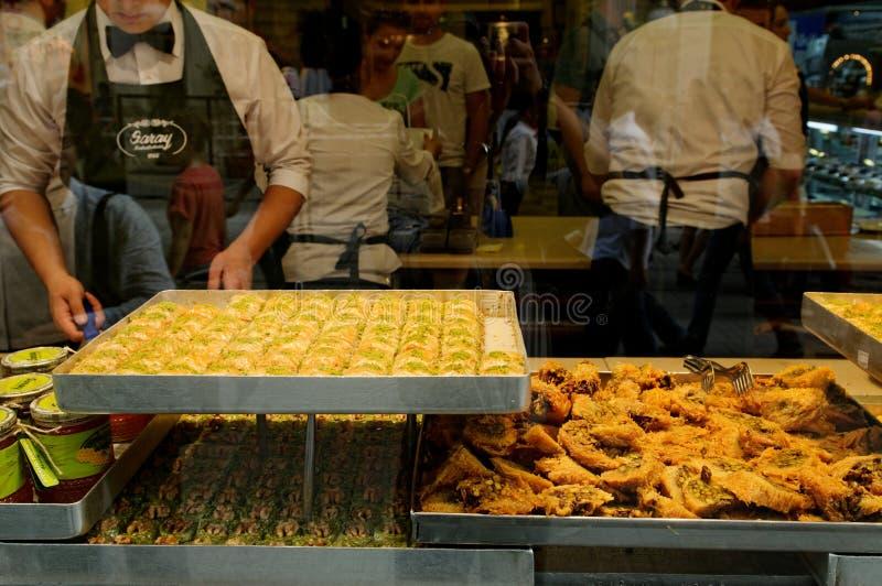 Turkse snoepjes stock foto's