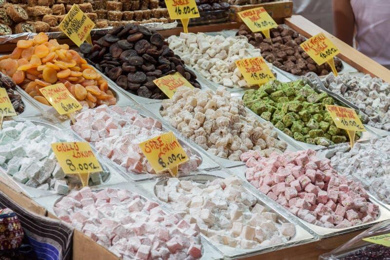 Turkse Snoepjes royalty-vrije stock foto's