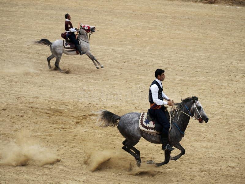 Turkse speer stock afbeelding