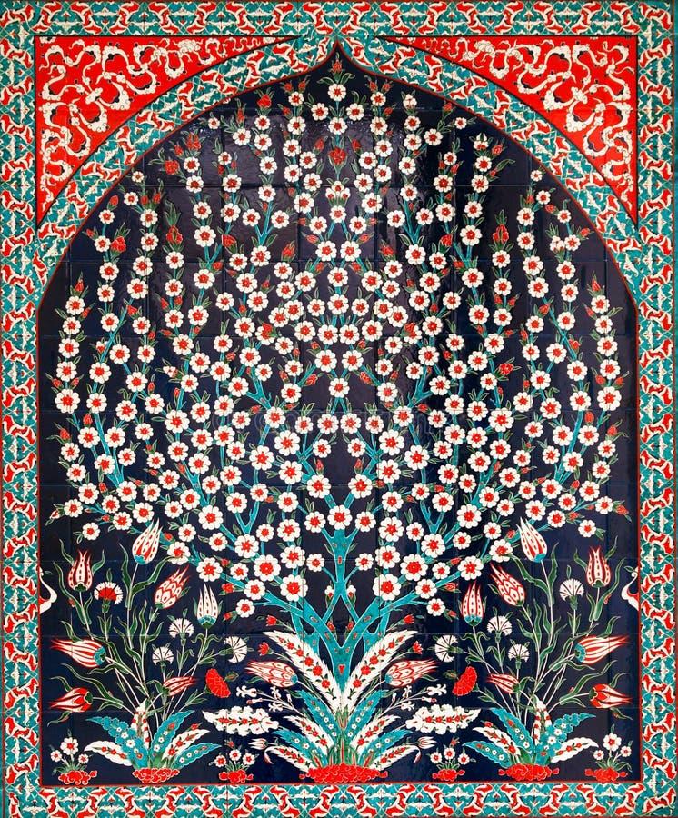 Turkse tegels stock afbeelding