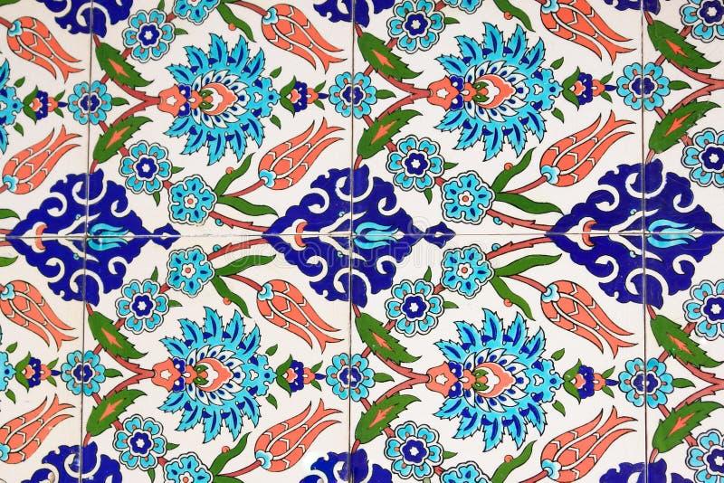 Turkse tegels royalty-vrije stock afbeelding