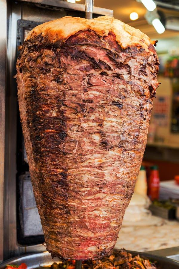 Turkse voedsel doner kebab royalty-vrije stock afbeeldingen