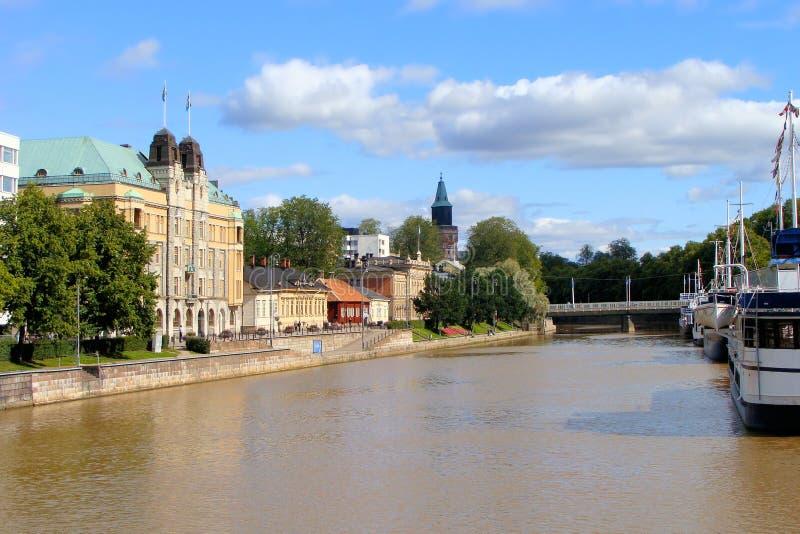 Turku, Finlandia immagine stock libera da diritti