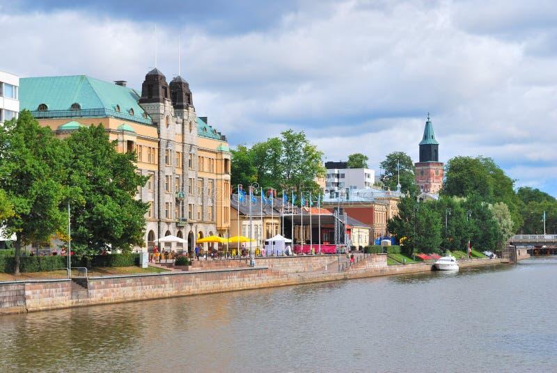 Turku, Finnland stockfotos