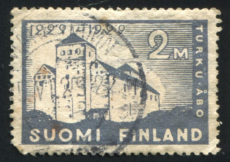 Turku kasztel fotografia royalty free