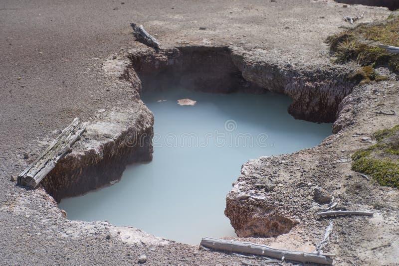 Turkusowy basen - Yellowstone park narodowy fotografia stock