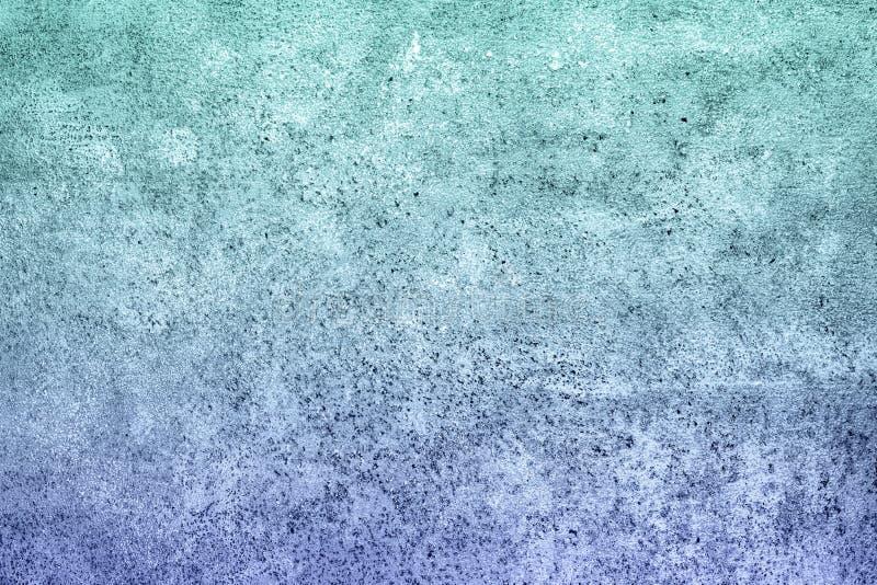 Turkusowy fiołkowy gradientu betonu tynku tło z małymi punktami zdjęcia royalty free