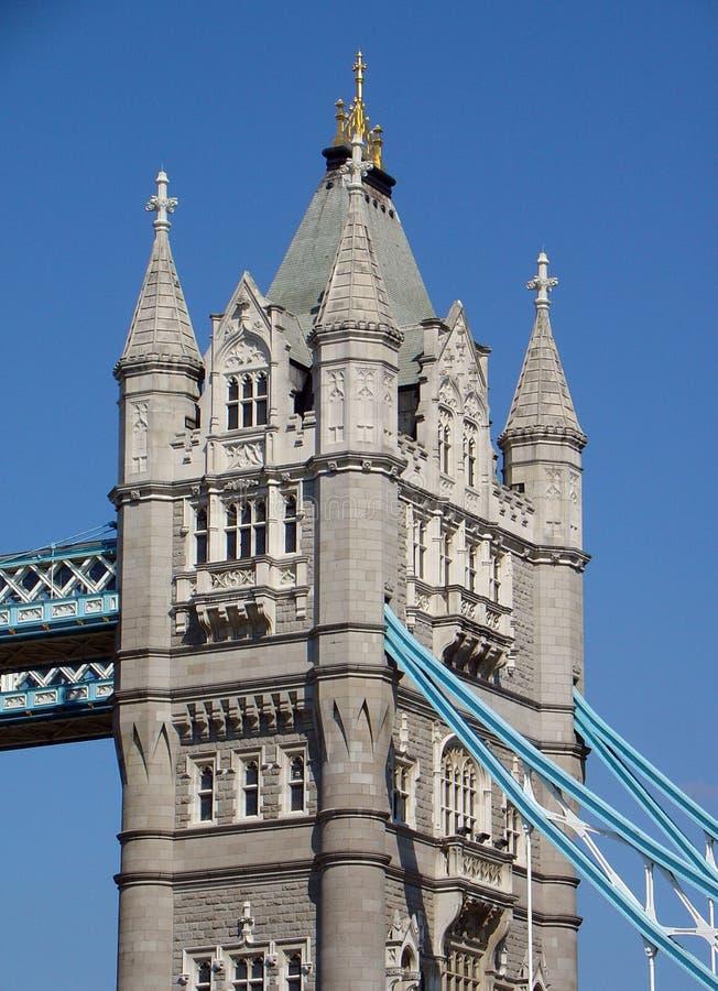 Turm-Brücke lizenzfreies stockbild