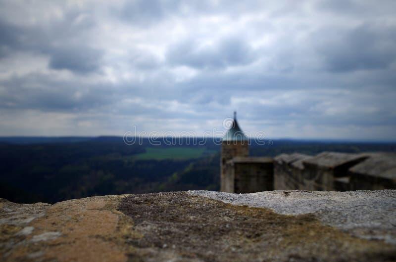Turm des Schlosses stockfotografie