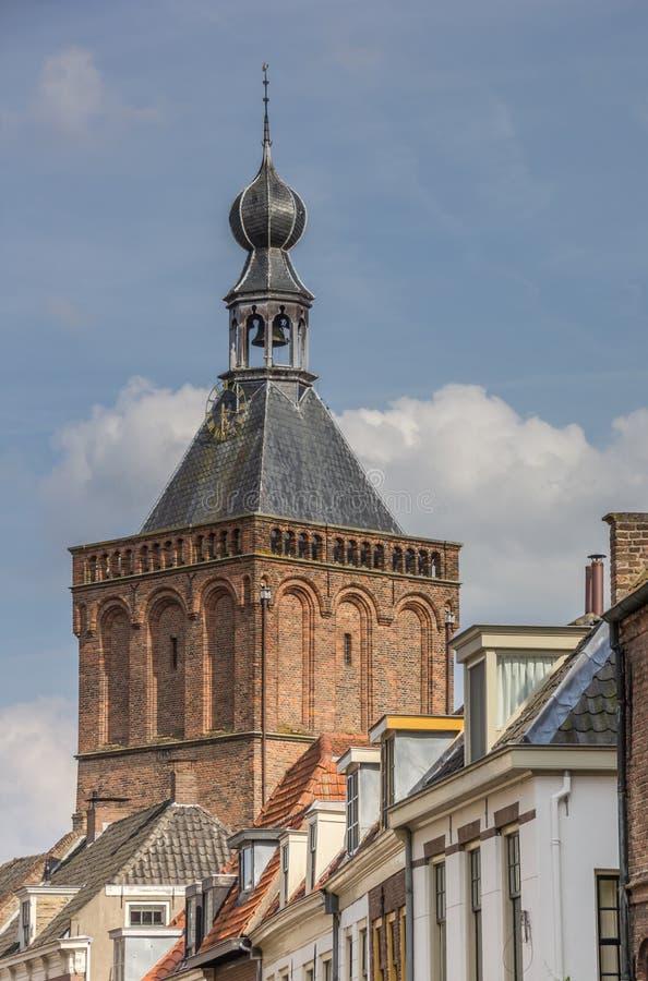 Turm des Stadttors von Culemborg stockfoto