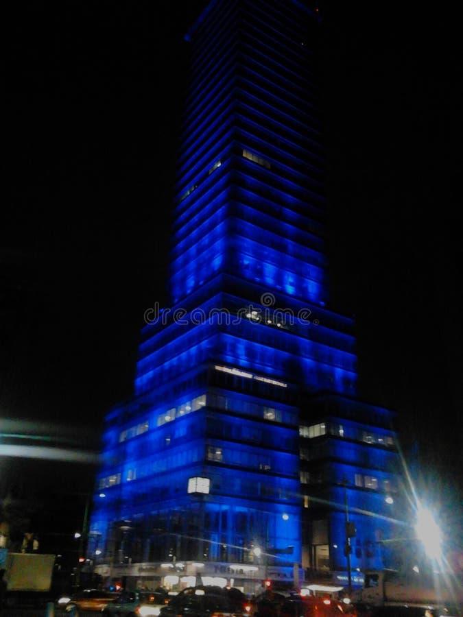 Turm Mexiko City lizenzfreie stockfotos