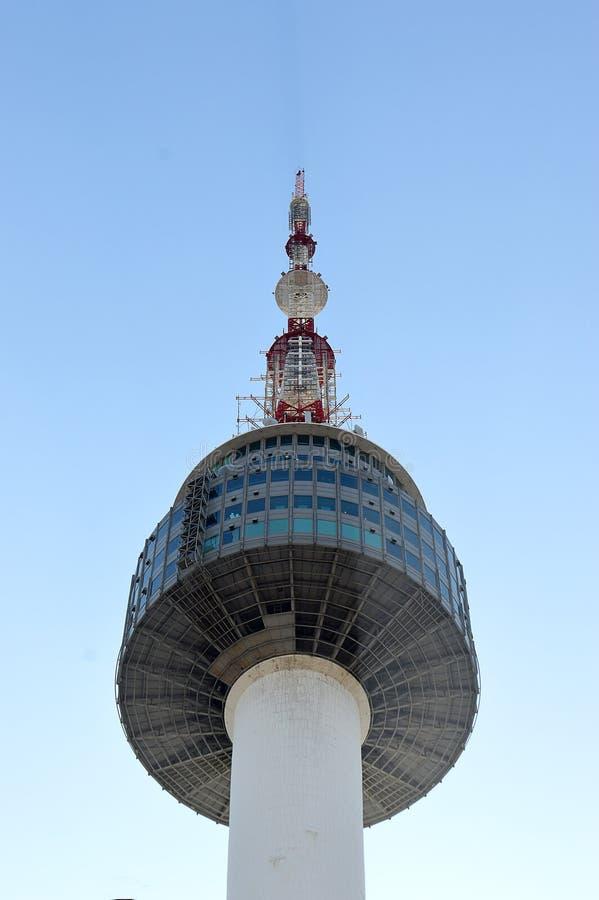 Turm N Seoul, Seoul, Südkorea lizenzfreies stockfoto