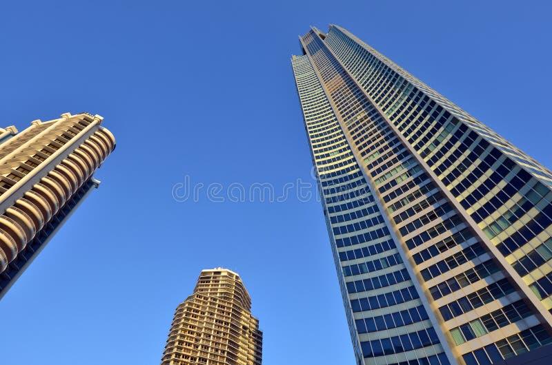 Turm Q1 in Gold Coast Queensland Australien stockfotografie