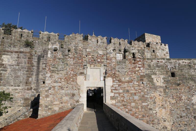 Turm von Bodrum-Schloss stockbilder