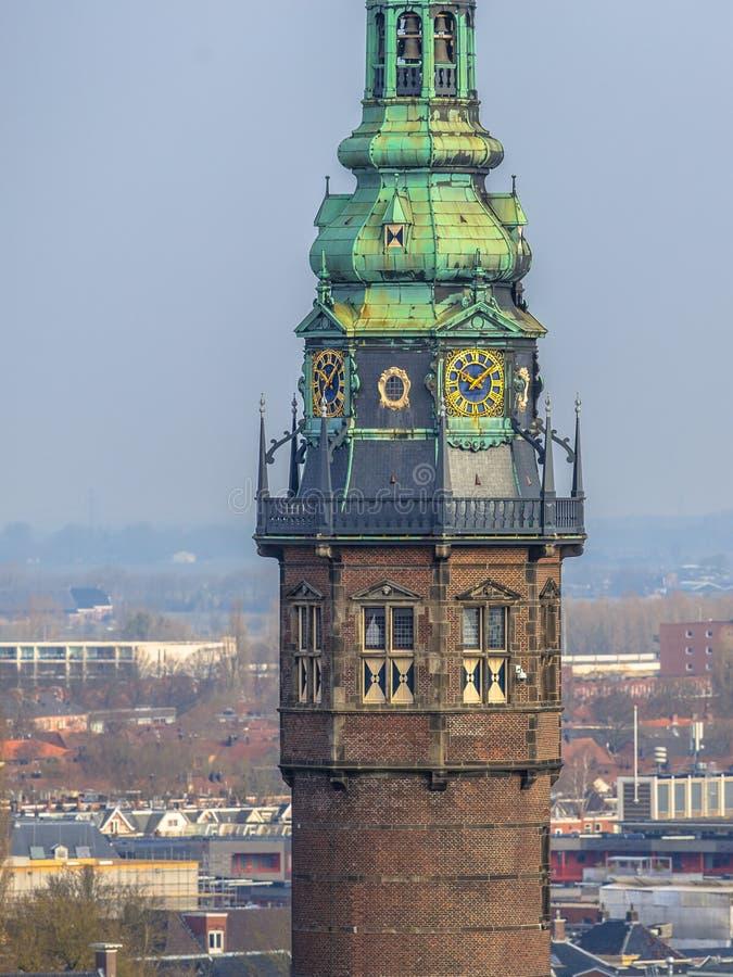 Turm von Groningen-Universität lizenzfreie stockfotos
