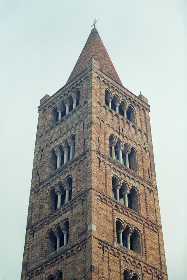 Turm von Pomposa-` s Abbbey stockbild