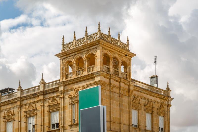 Turm von Zamora-Bahnstation lizenzfreies stockbild