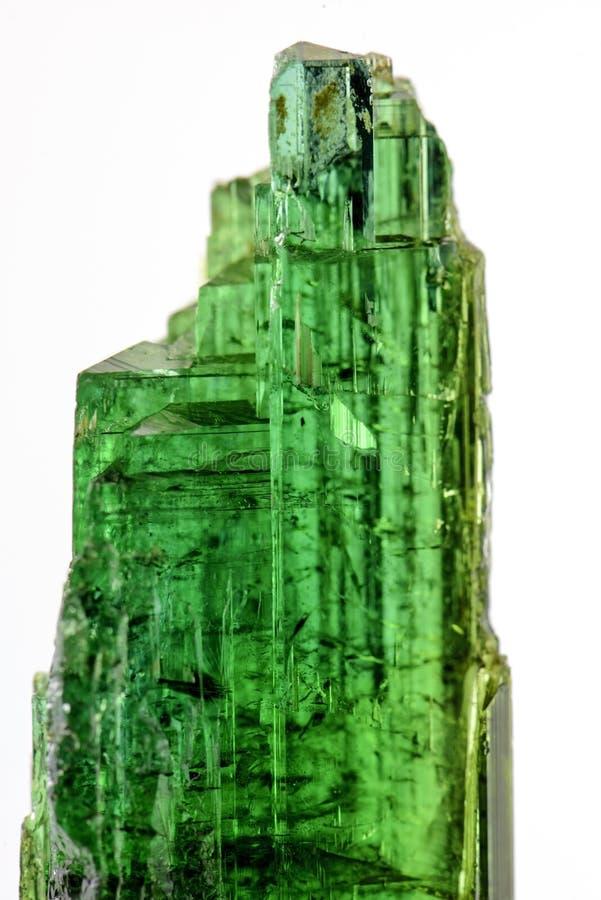 Turmaline verde imagens de stock royalty free