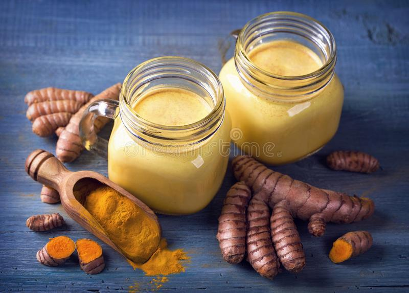 Download Turmeric Latte stock image. Image of superfood, ginger - 106411157