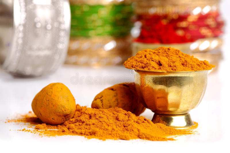Download Turmeric powder stock photo. Image of gourmet, background - 23349420