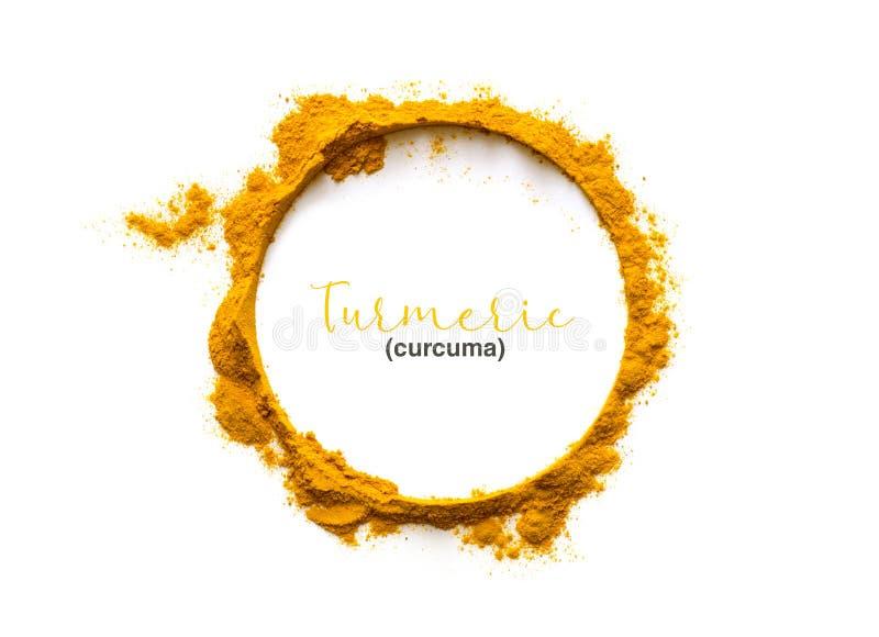 Turmeric powder or Curcuma stock images