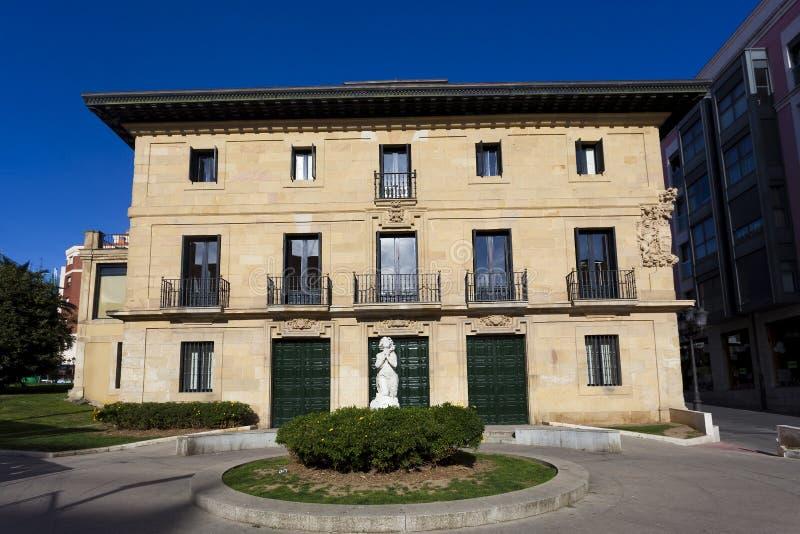 Turmhaus in Santurtzi, Bizkaia lizenzfreies stockfoto