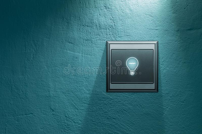 Turn on creativity stock images