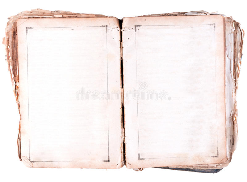 Turn an old book royalty free stock photography