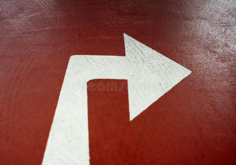 Turn right royalty free stock images