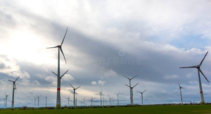 turnbines wind стоковое изображение rf