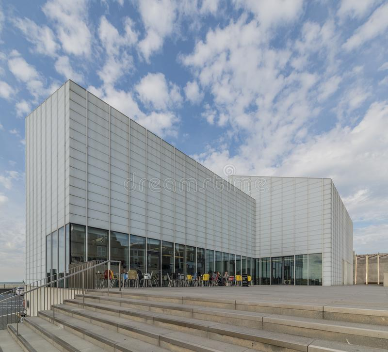 The Turner Contemporary. An art gallery and Museum in Margate, Kent, England royalty free stock photo