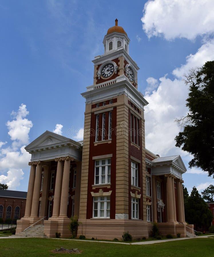 Turner County Courthouse lizenzfreie stockfotografie