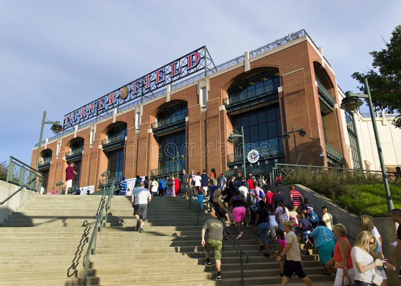 Turner field royalty free stock photo