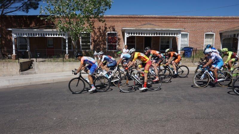 Turnera av Gila Bike Race Silver City, NM 2017 royaltyfria foton