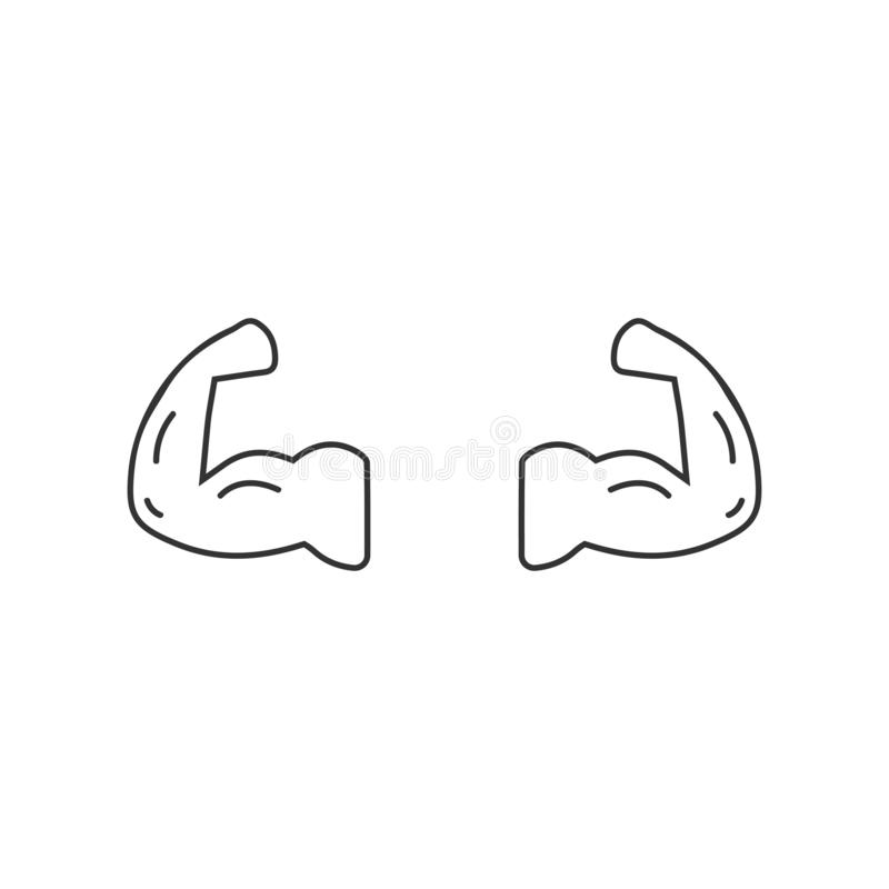 Turnhallenikonenebene vektor abbildung