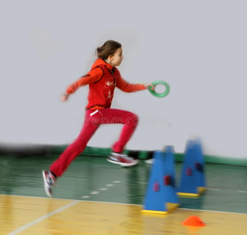 Turniejowe dzieciak Atletyka zdjęcie royalty free