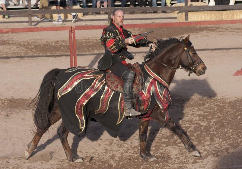 Turnierendes Arizona-Renaissance-Festival lizenzfreie stockbilder