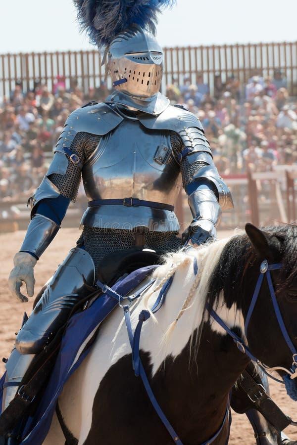 Turnierendes Arizona-Renaissance-Festival stockbild