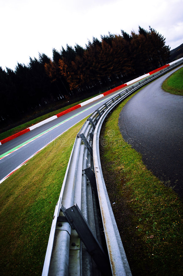 Free Turning At A Race Track Stock Photos - 3614743