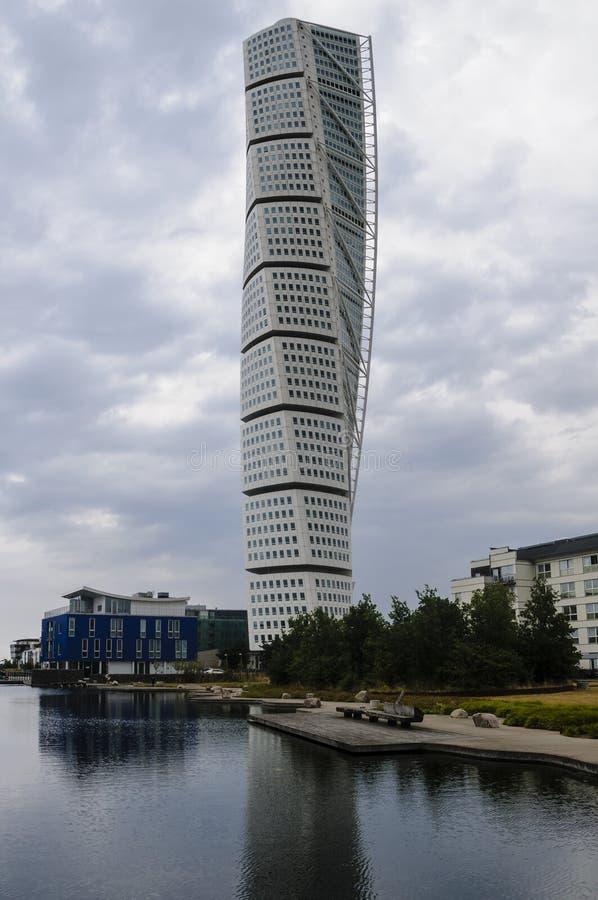Download Turning Torso editorial photo. Image of residential, landmark - 28427796