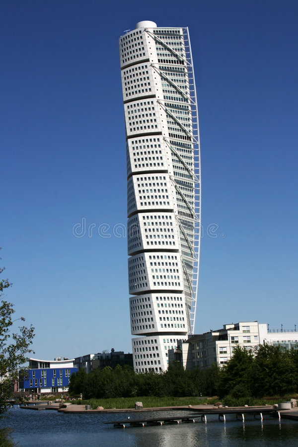 Free Turning Torso Royalty Free Stock Photo - 5350625
