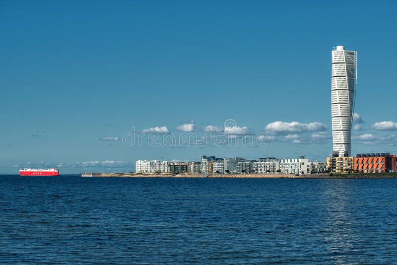 Turning Torso in Malmo, Sweden royalty free stock photography
