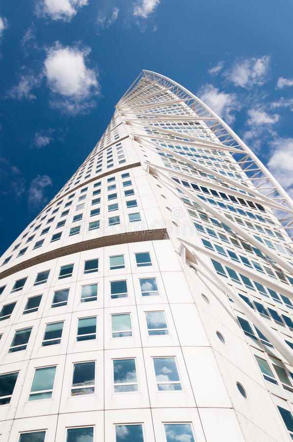 Turning Torso in Malmo, Sweden royalty free stock photo