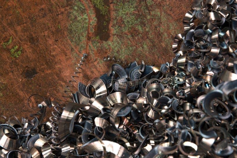 Download Turnings borings stock image. Image of factory, machine - 17702847