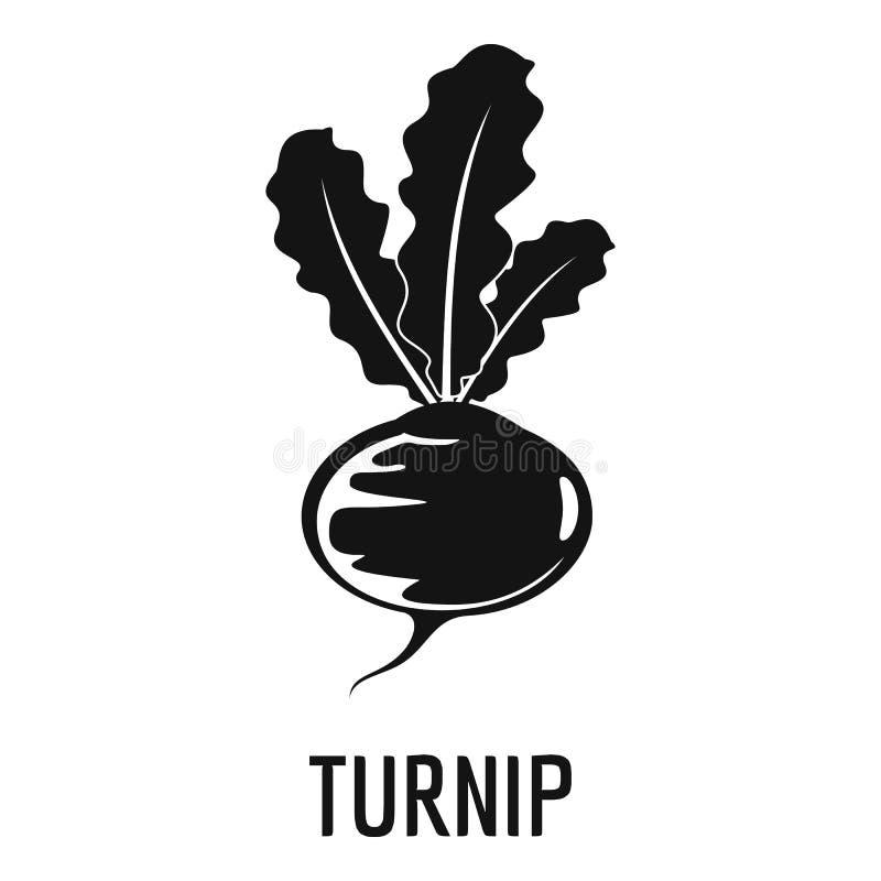 Turnip icon, simple style. Turnip icon. Simple illustration of turnip vector icon for web vector illustration