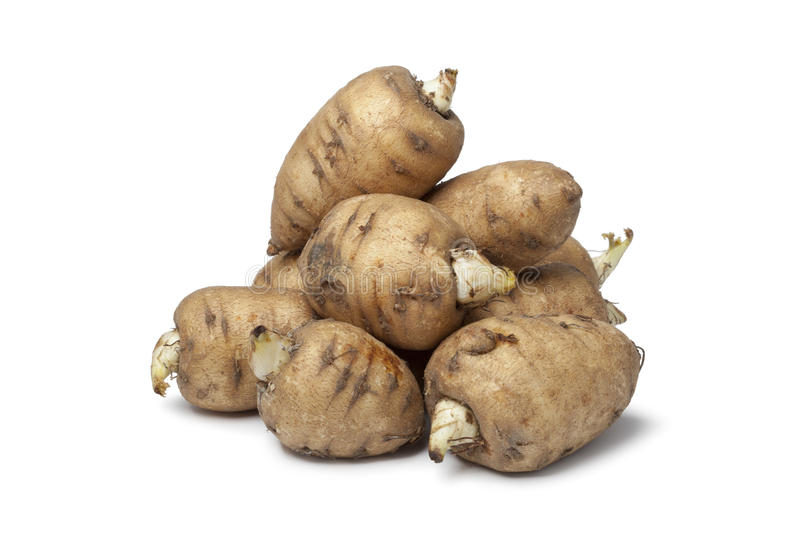 Turnip-rooted Chervil Stock Image
